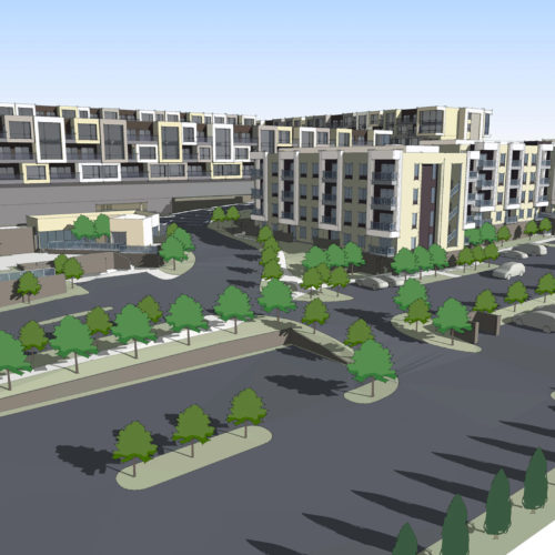 Proposed Vantage Lofts and Flats Phase II by Tilton Development